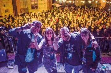 Cochabamba festejó  con rock
