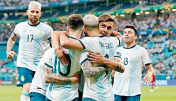 Argentina y dos  amistosos