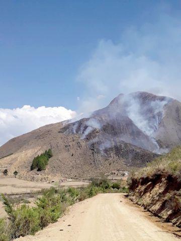 Incendios en Villa  Serrano y Zudáñez  causan sobresaltos