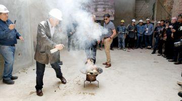 Construyen segunda fase de esperada Casa Wak'a