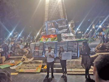 Jóvenes de Sucre exigen la declaratoria de desastre