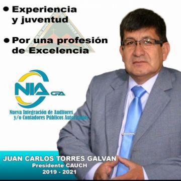 Juan Carlos Torres gana elecciones de auditores