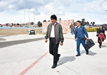 Evo viaja a Asamblea de la ONU y buscará ayuda para la Chiquitanía