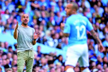 El City golea en la Liga