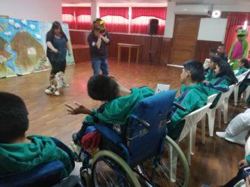 """Programa """"Paringo cultural"""" deleita a los niños del Psicopedagógico"""
