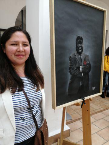 """Una exposición """"Salvaje"""" de Janeth Galván"""