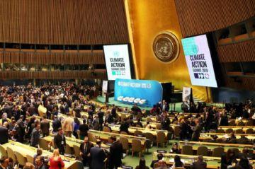 ONU exige acciones urgentes en inicio de Cumbre del Clima