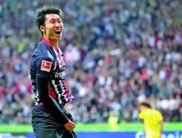 El Frankfurt le puso freno de mano al Dortmund