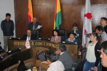 Personal del Concejo supera en 70% al de Tarija y Potosí