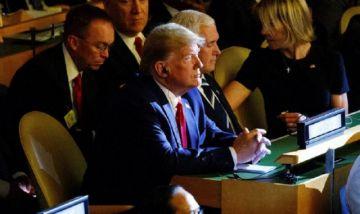 ONU: Trump irrumpe en la cumbre del clima, pero no interviene