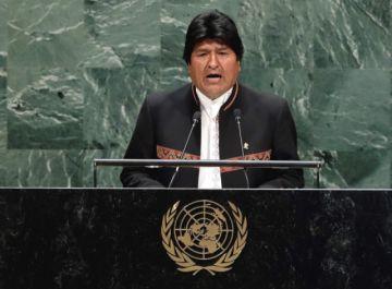 Morales exige que ONU vigile el cumplimiento del fallo en la demanda marítima