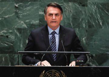 Bolsonaro se estrena en la ONU con defensa de Amazonía y ataque al socialismo