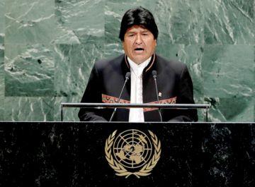 Evo quiere que la ONU inste a Chile a dialogar por el mar