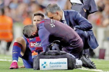 Barcelona gana,  pero pierde a Messi por lesión