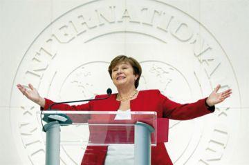Búlgara Kristalina Georgieva asume dirección del FMI