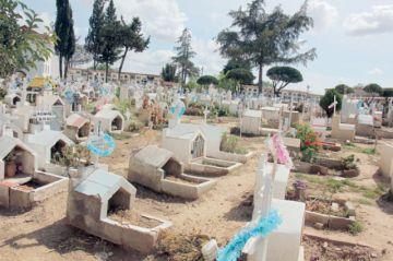 Ampliación del cementerio  arranca la próxima semana