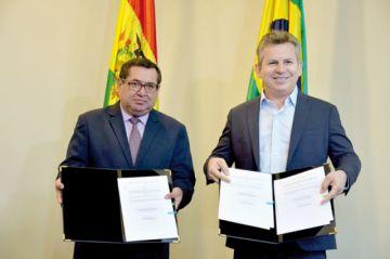 Acuerdan exportación  de electricidad a Brasil