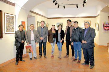 Caseta Cultural abre puertas  a las autoridades del interior