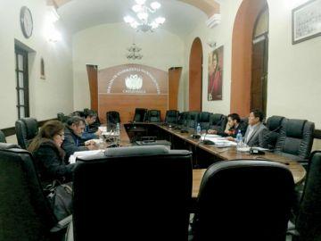 Diputados toman declaraciones  a magistrados