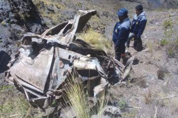 Potosí: Ocho fallecidos en accidente de tránsito de una delegación escolar