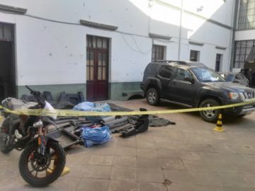 Atrapan a dos hermanos por robar una vagoneta