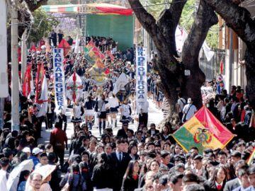 Conmemoran 481 años de la fundación de Sucre