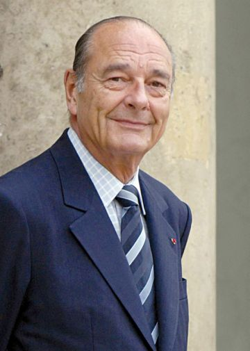 Francia: Muere  el expresidente Jacques Chirac