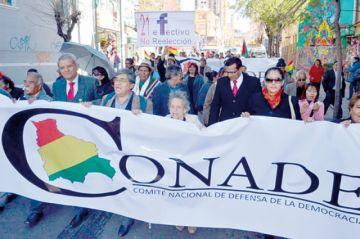 El Conade descarta el paro indefinido del 10 de octubre