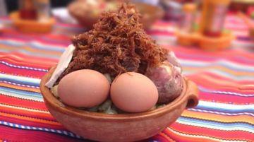 """Oruro elige el rostro asado, charquekán, brazuelo y chorizo como """"platos bandera"""""""