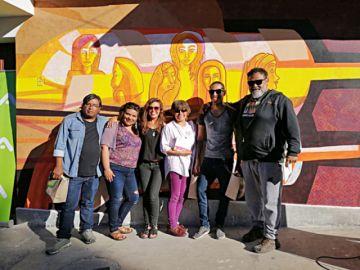 Artistas entregan murales