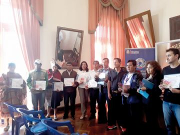 Realzan labor de gestores turísticos en Chuquisaca
