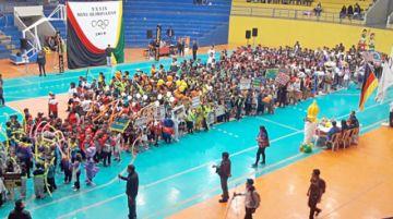 Fiesta deportiva escolar