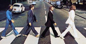 50 años después, Los Beatles vuelven a cruzar Abbey Road