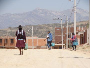 Vecinos de 30 de Mayo anuncian movilizaciones por pavimentado