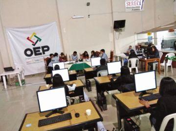 Más de 500 ciudadanos se excusan en Chuquisaca
