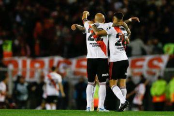 River le gana a Boca en el partido de ida de la semifinal de la Libertadores
