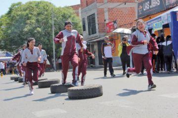 Estudiantes corrieron el Rally del Saber
