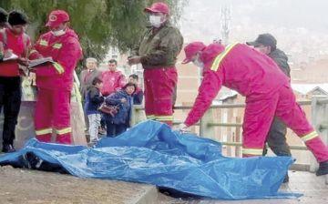 Rayo mata a dos adolescentes en barrio paceño