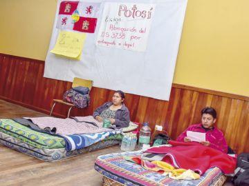 Gobierno fustiga huelga de Comcipo en La Paz
