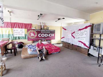 COD en huelga de hambre por el problema del agua