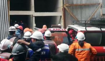 Dos obreros fallecen tras caída en el nuevo edificio del Legislativo