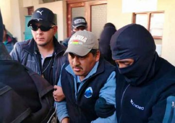 Sergio Pampa, a la cárcel con detención preventiva