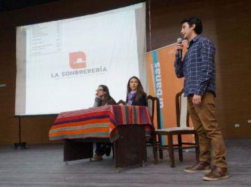 Presentan logo del Centro Cultural La Sombrerería