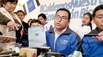 Elmar Callejas  promete a jóvenes acceso a créditos