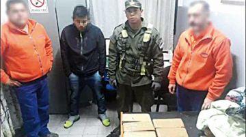 Cae boliviano con 6 kilos de marihuana en Argentina