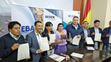 Envibol firma 7 contratos para  proveer envases