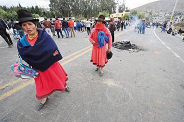 Tensa calma en Ecuador