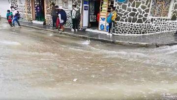 Seis zonas son afectadas  por lluvias y escombros