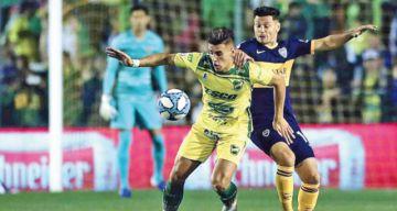 Boca mira desde arriba en la Liga argentina