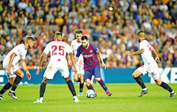 El Barça gana en la Liga  y se acomoda segundo